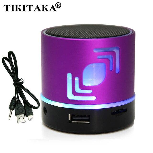 Мобильный Bluetooth Спикер с подсветкой