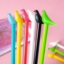 Novel Cartoon Dove of peace 0.5mm Gel pen Office School Supplies prize student Pens Pencils Student exam Writing