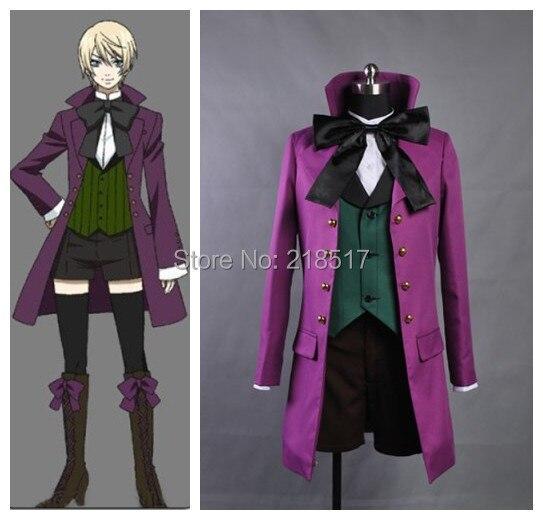 Anime Black Butler II 2 cosplay Alois Trancy Cosplay Costume adult cosplay  clothes halloween Men women