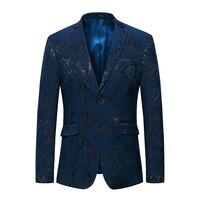 Cigna Large Size S 6XL Men Long Sleeve Suit Jackets Business Wedding Banquet Suits Jacket Mens Slim Elegant Male Blazers Coats
