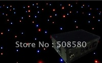 HOT! free shipping,4*6M RGBW LED Star Curtain 480pcs M5 LED Lamp with Controller and DMX 8CHS,(BS 7003)