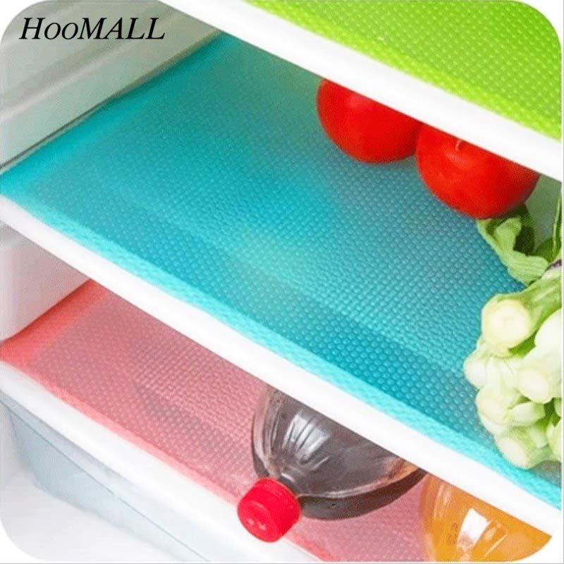 Refrigerator Pad Anti-bacterial Fridge Mat Antifouling Mildew EVA Waterproof