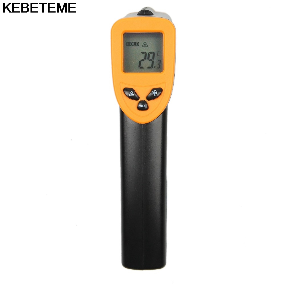 Image 2 - 1PC Hot Handheld infrared Thermometer Temperature Gun Digital  Laser LCD Non contact Infrared Thermometer 50 to 380 Cnon-contact  infraredhandheld infrared thermometerinfrared thermometer -