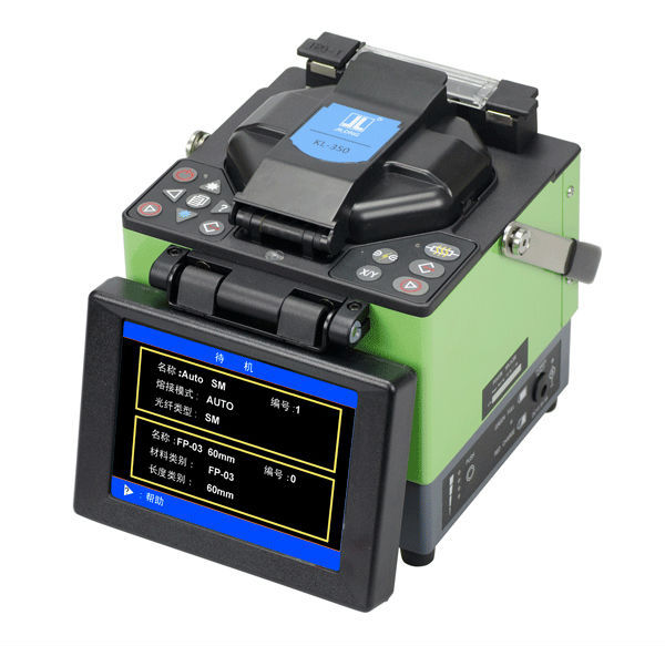 Effective Optical Fiber Fusion Splicer JILONG KL-350/Fusionadora de Fibra Optica Splicing Machine Core-Core&Clad-Clad AlignementEffective Optical Fiber Fusion Splicer JILONG KL-350/Fusionadora de Fibra Optica Splicing Machine Core-Core&Clad-Clad Alignement