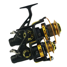 13+1 BB Spinning Reel Saltwater Double Drag 8KG CNC Aluminum Handle Metal Carp Reels Winter Fishing Tackle Carretilha Pesca