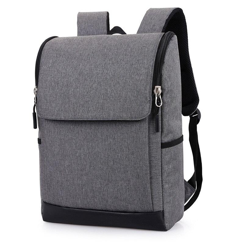 ᐊcanvas Laptop Backpack Teenage ᗛ Boys Boys Notebook Backpacks Black ᐂ Gray Gray Large School