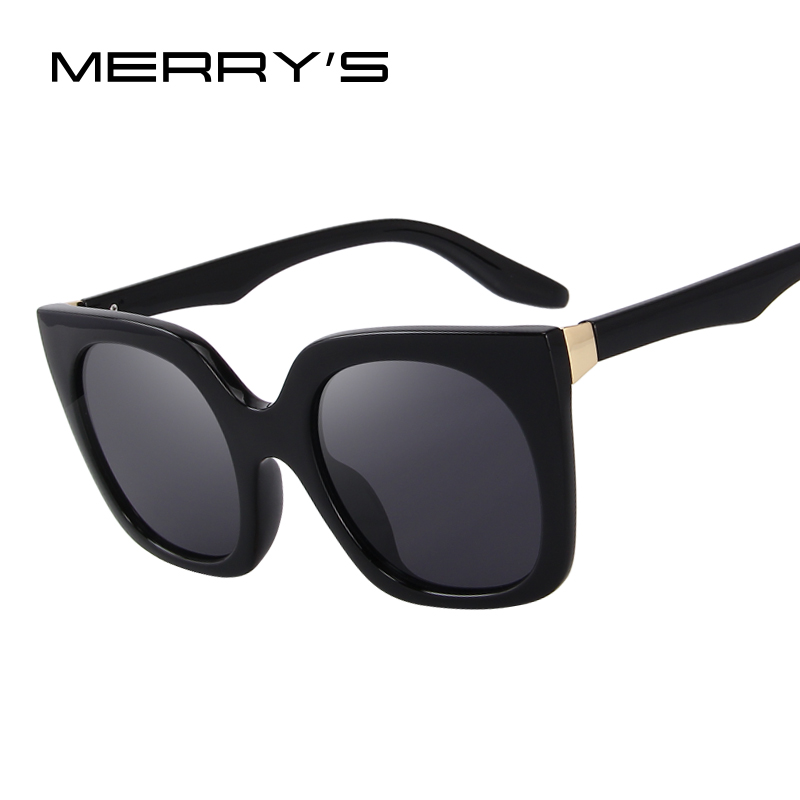 f5a0db41de MERRY S Fashion Cat Eye Sunglasses Women Brand Designer Retro Sunglasses  S 6209