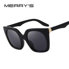 Merry's Мода кошачий глаз Солнцезащитные очки Для женщин Брендовая дизайнерская обувь ретро Солнцезащитные очки s'6209