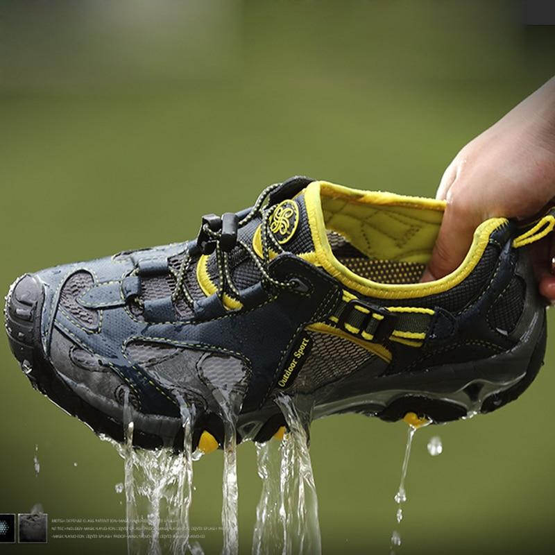 Summer Breathable Mens Casual Fashion Shoes Men s Water Shoes Mesh Walking Shoe For Men