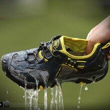 Sommer Atmungsaktive Herren Lässige Mode Schuhe herren Wasser Schuhe Mesh Walking-schuh Für Männer