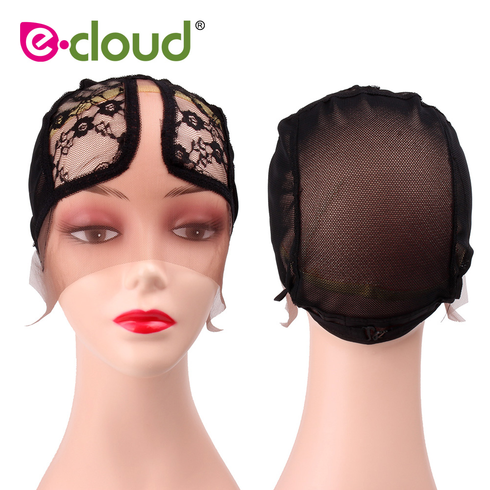 Wig Caps for Making Wigs Full Lace Wig Weaving Cap Mesh Base Machine Made Stretchy Net M ...