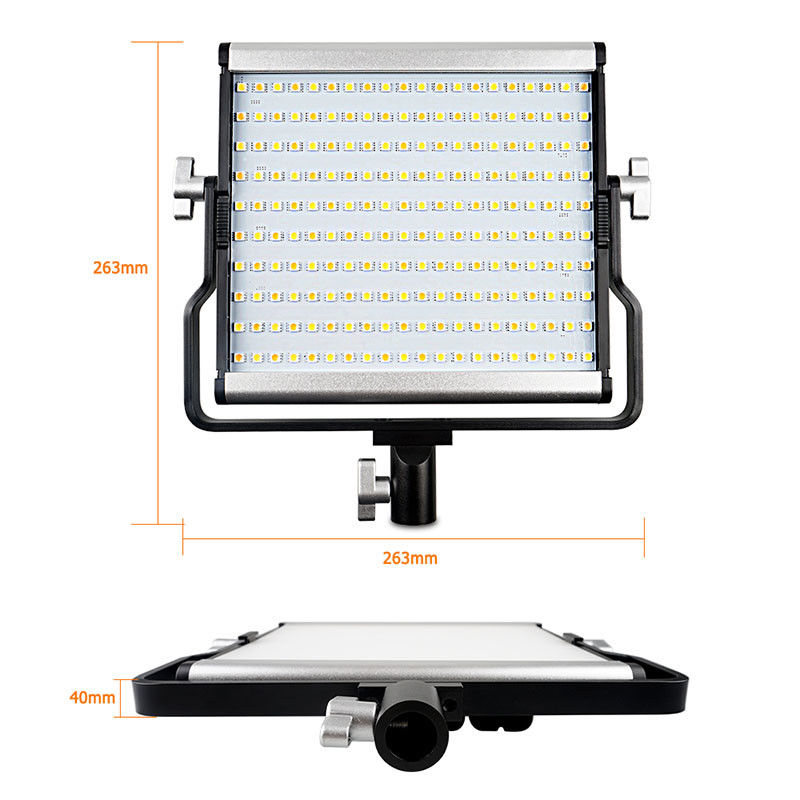 <font><b>L4500</b></font> Bi-color 3200-5600K LED Panel Video Photography Light +Bag Kit For Nikon D200 D300 D500 D600 D700 D800 D3400 D5500 Camera image