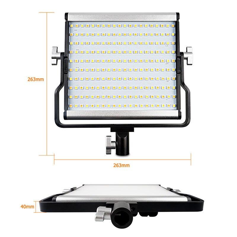 L4500 Bi-color 3200-5600 K Panel LED Video. fotografía, luz, + bolsa + Kit para Nikon D200 D300 d500 D600 D700 D800 D3400 D5500 Cámara