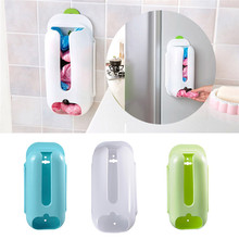 Wall Mount Home Garbage Plastic Bags Storage Box Kitchen Storage Box Plastic Carrier Home Holder Organizer Container Recycle Box