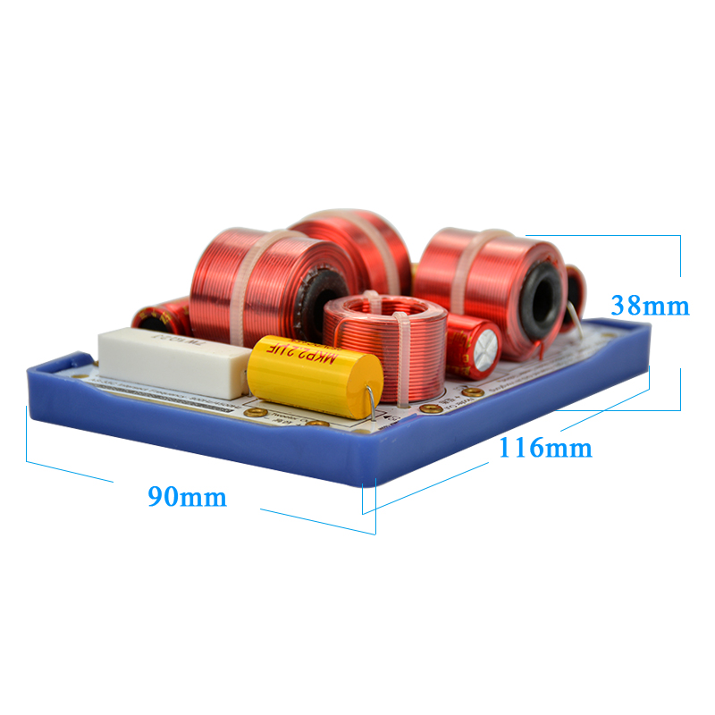 2Pcs KASUN AS 33C 3Way 3 Unit HiFi Speaker Frequency Dividers ...