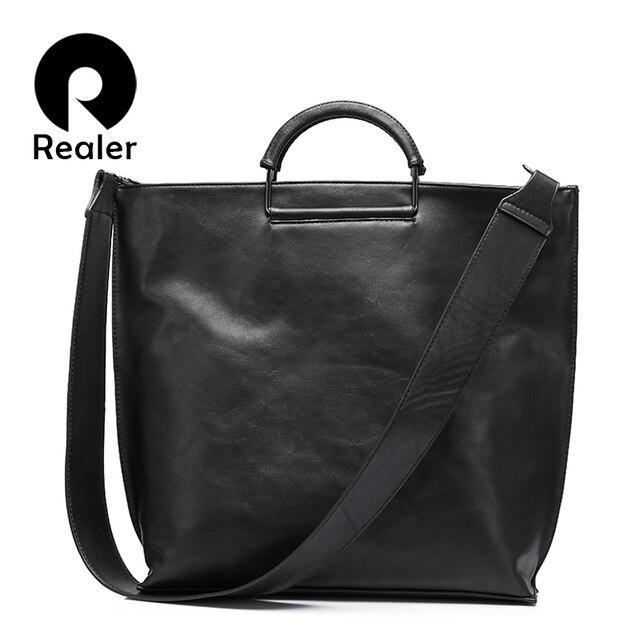 REALER бренд модная сумка женская через плечо большая наплечная сумка для женщин, женский складываемый клатч