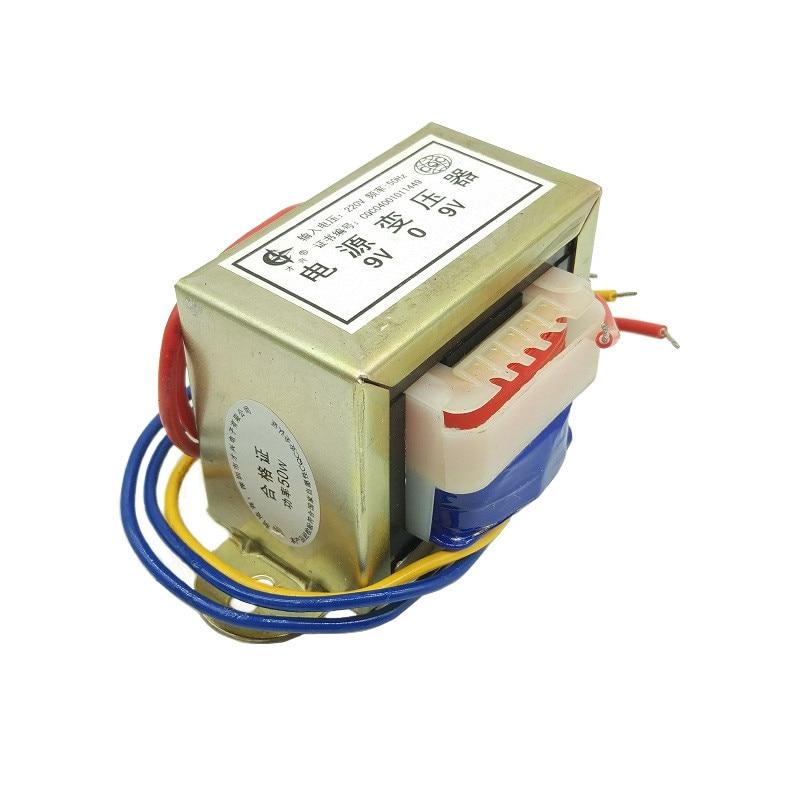 EI66X36 50W Power Transformer 220v 50hz Input Dual Output 2x6V 2x9V 2x12V 2x15V 2x18V 2x24V AC