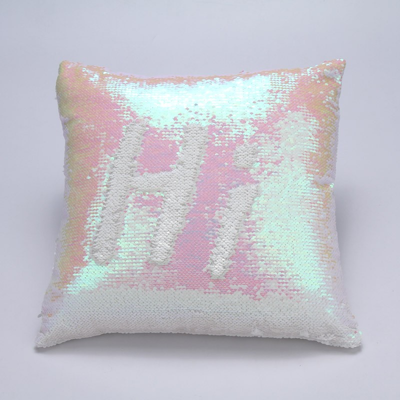 reversible sequins cushion mermaid sequin pillow magical color changing cushion home decor throw pillow sofa cushions 40x40cmin cushion from home u0026 garden