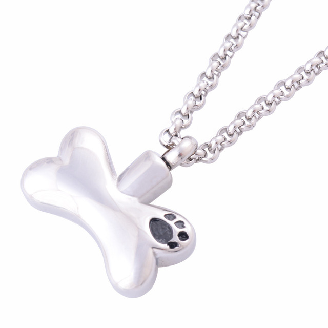 Bone Shaped Memorial Pendant