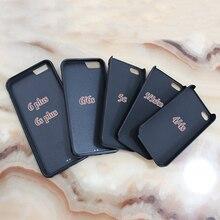 """""""Hello, I'm Vegan"""" phone case cover for iPhone 4 4S 5 5S Se 5C 6 6 plus 6s 6s plus 7 7 plus"""