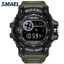 цена Smael Famous Military Men Watches Luxury Led Digital Sport Wristwatch G style Shock Waterproof swimming relogio masculino онлайн в 2017 году