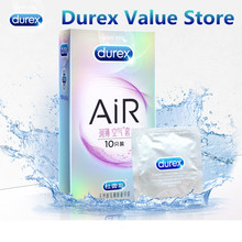 Durex AiR Condoms New Kondoms Ultra Thin Extra Lubricated Condom Ultrafire Penis Sleeve Erotic Product Sex Toy Intimate for Man