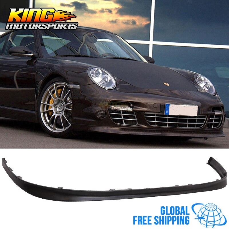 Fits 2006-2012 Porsche 997 OE Style Front Bumper Lip Unpainted PU Urethane