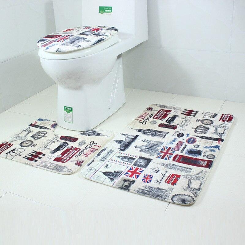 Aliexpress.com : Buy Flannel+sponge+PVC Bottom Bathroom