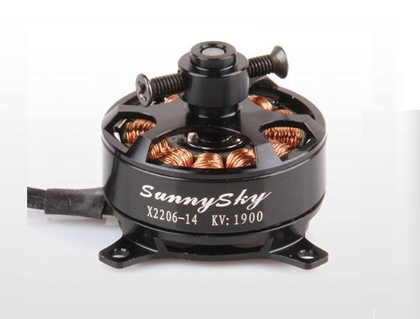 Free Shipping Sunnysky X2206 KV1500 KV1900 font b rc b font Brushless Motor For font b