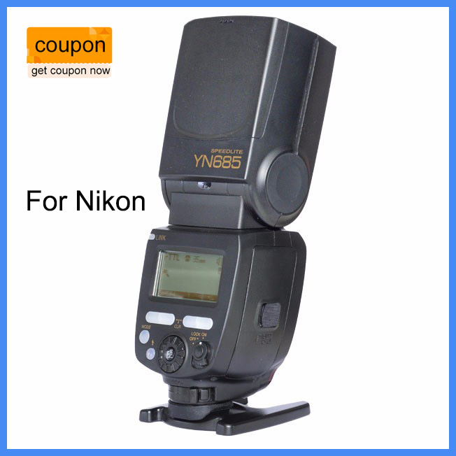 YONGNUO i-TTL Speedlite YN685 Funziona con YN622N RF603 Wireless Flash per Nikon DSLR CameraYONGNUO i-TTL Speedlite YN685 Funziona con YN622N RF603 Wireless Flash per Nikon DSLR Camera