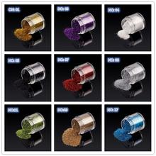10g Nail Art Holographic Glitter PowderDIY UV Gel Shining Dust Polish Makeup Manicure tools