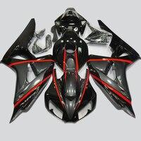 Bodywork Fairing Kit For Honda CBR 1000 RR 1000RR CBR1000 RR 2006 2007 Motorcycle Injection Fairings Cowl Black CBR1000RR 06 07
