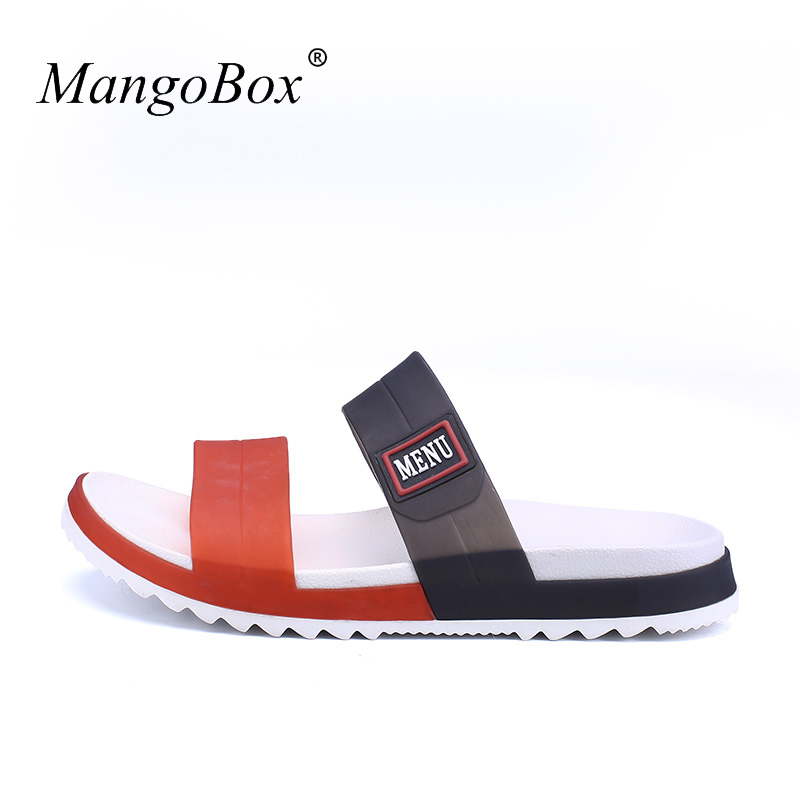Sandálias planas Para Homens Baratos Sapatos De Praia De Borracha - Sapatos masculinos - Foto 4