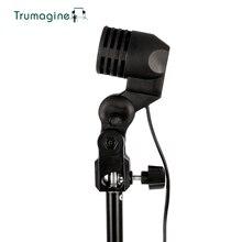 TRUMAGINE E27 разъем фото светильник ing держатель лампы фотостудия светильник для вспышки зонтик кронштейн для фотосъемки
