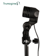 цены TRUMAGINE E27 Socket Photo Lighting Bulb Holder Photography Studio Light Fitting Flash Umbrella Bracket For fotografia
