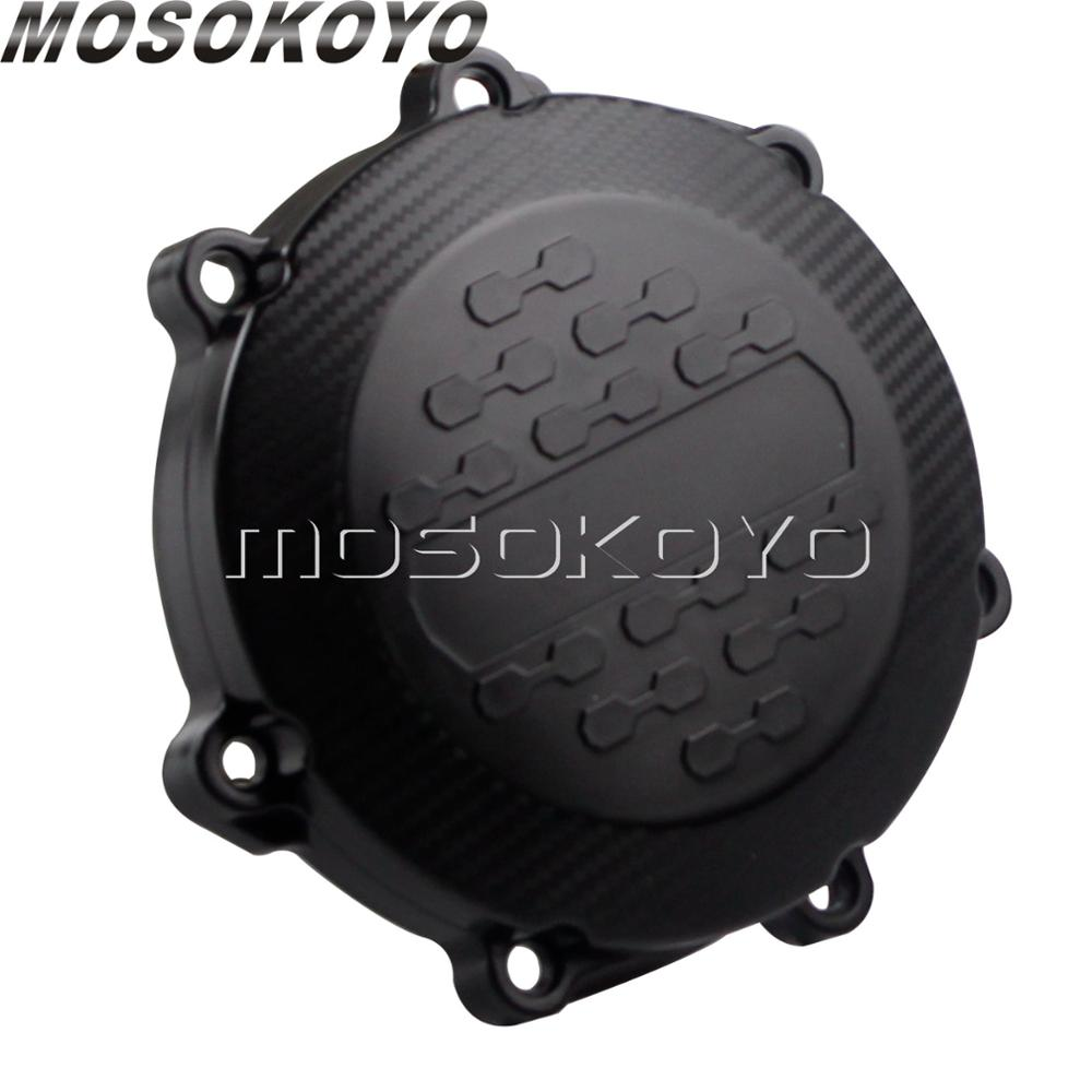 ABS Motocross Enduro Engine Clutch Cover Guard Casing <font><b>Protector</b></font> for <font><b>Yamaha</b></font> YZ250F YZ250FX WRF250 <font><b>WR</b></font> YZF WRF <font><b>250</b></font> 2015 2016 17 image