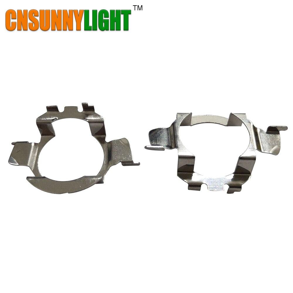 H7 LED Clip En Métal Retenue Adaptateur Ampoule Titulaire pour BMW X5 pour AUDI A3 A4 LED Phare Ampoule H7 LED Adaptateur Base pour VW pour Buick