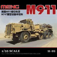 Meng Model 1/35 SS 013 M911 C HET (8x6) & M747 Heavy Equipment Semi Trailer