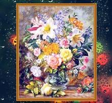 Full diamond embroidery science 5d diamond painting cross stitch flower diy 5d diamond painting diamond mosaics m40