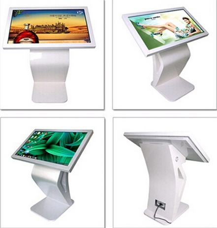 Demonstration Exhibition Lcd Video Display 46 55 65 Inch Full Hd Android Touch Kiosk Touch CCTV Monitor