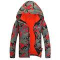 Мужская Профессиональный Миссии Куртка Tech Горный Пальто 3in1 Камуфляж Водонепроницаемый Дождь Куртка Снег Пальто
