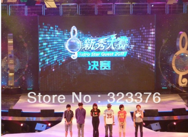 US $1223 0  high definition p5 indoor led display screen for rental event  show stage backdrop-in LED Displays from Electronic Components & Supplies  on