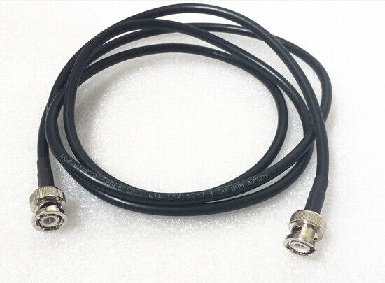 Бесплатная Доставка RG58 40 inch 100 см Соединительный Кабель BNC штекер для BNC штекер прямой Коаксиальный Перемычки кабель
