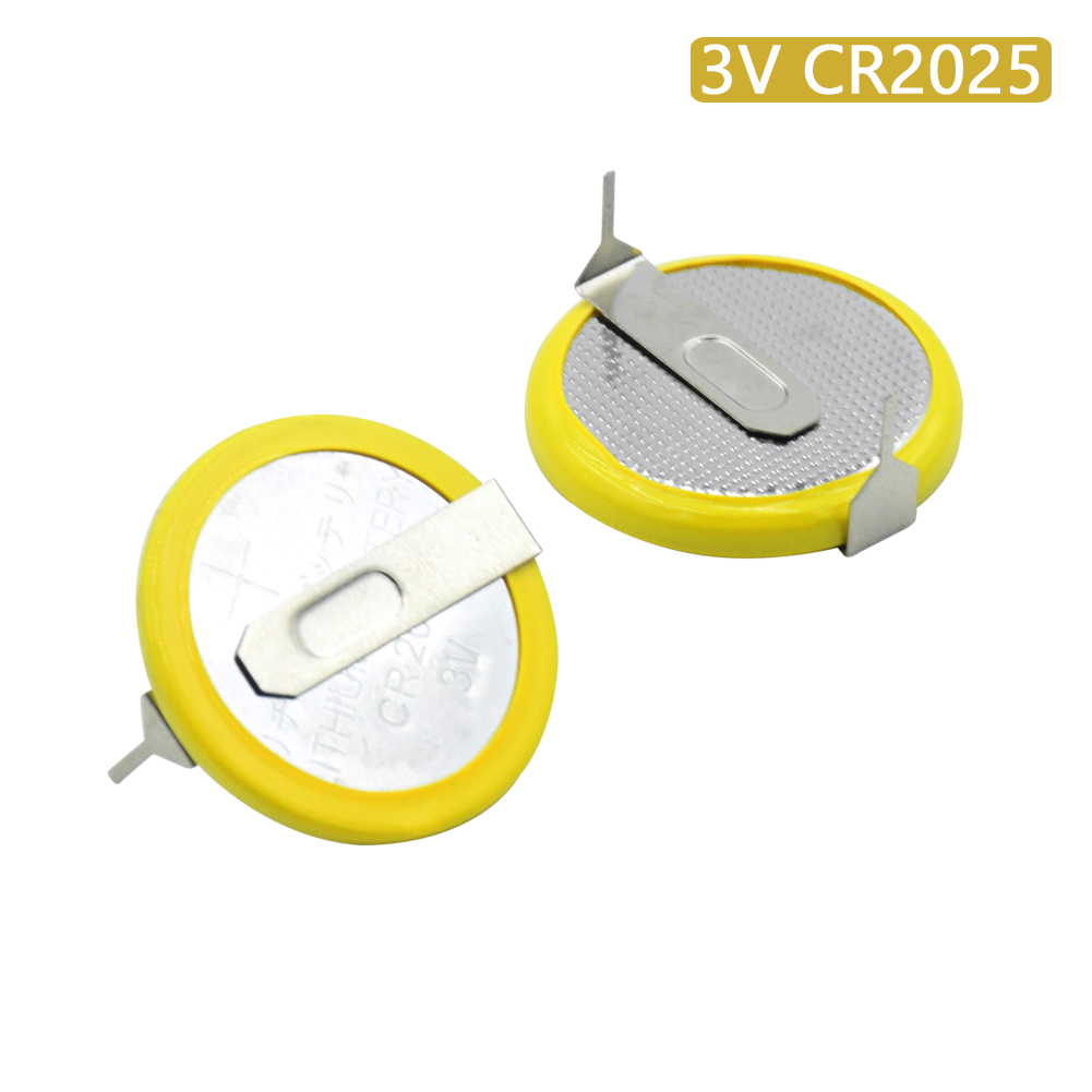 Buy Battery CR2025 3V Coin Cell With 2 Pins For E-dictionary Medical Device 2Pcs for $1.04 in AliExpress store