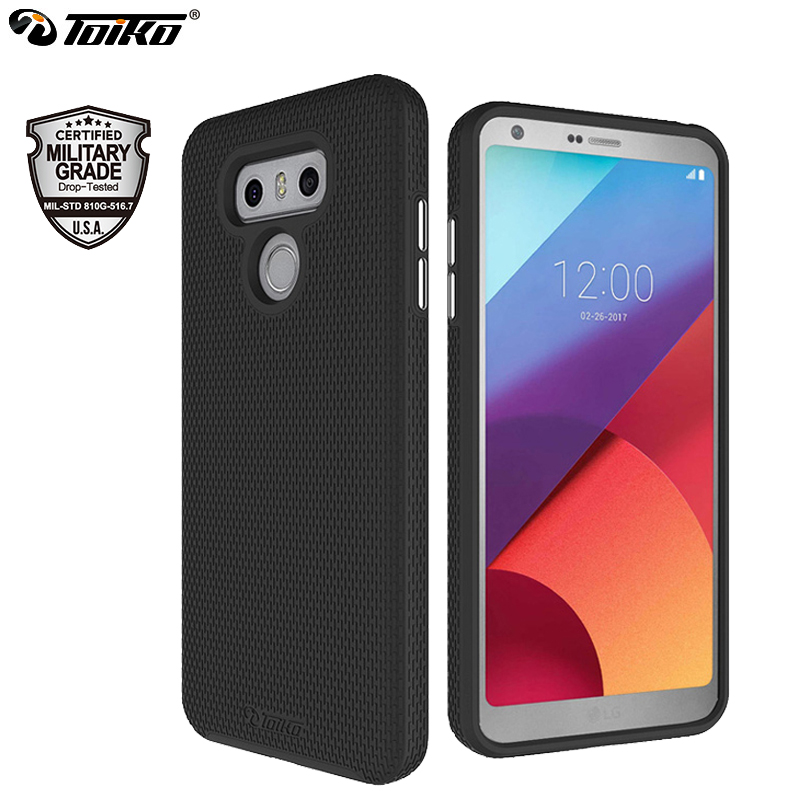 Toiko X Guard Cellular Telephone Case For Lg G6 Shockproof 2 In 1 Again Cowl Delicate Tpu Onerous Laptop Rugged Armor Heavy Responsibility Protecting Shell