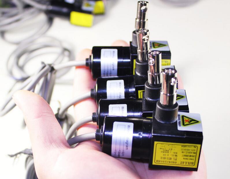 Tirez la corde encodeur déplacement capteur câble capteur tirer corde capteur interrupteur capteur règle électronique par défaut 0-2000mm gamme.