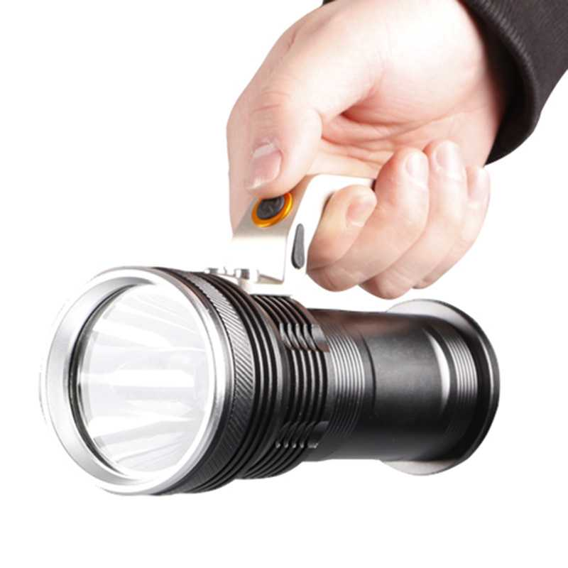High Power Military LED Flashlight 18650 Flash Light 1000 Lumens Rechargeable Led Flashlights Torch Portable Lantern for Bicycle