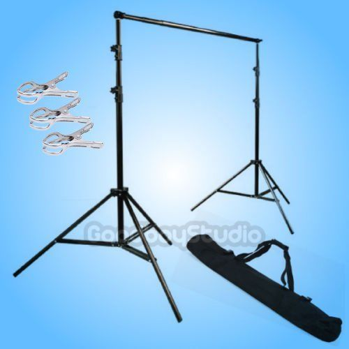 Studio Aluminium Background Support Stand System (10ft wide x 9ft Height) with bag (2.8x3M) fr Photography Photo Video Backdrop max width 152cm x 200cm height photography big pvc backdrop background support stand system metal