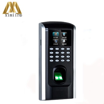Biometrische Fingerprint Access Control ZK SF200 Fingerprint Zeit Teilnahme TCP/IP Tür Access Control System