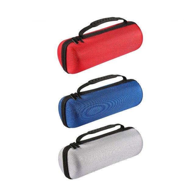 Nueva funda de viaje de transporte para JBL Charge3 Charge 3 Altavoz Bluetooth para enchufe y Cables de almacenamiento con cremallera protectora bolsas